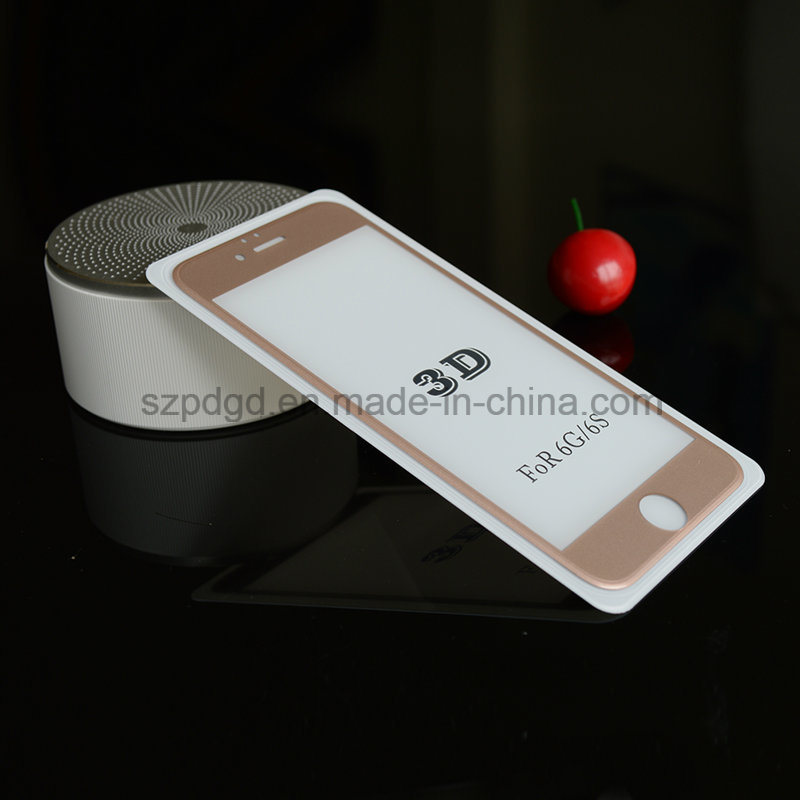 for iPhone 6 / 6s Phone Accessories 3D 9h Curved Edge Tempered Glass Screen Protectors
