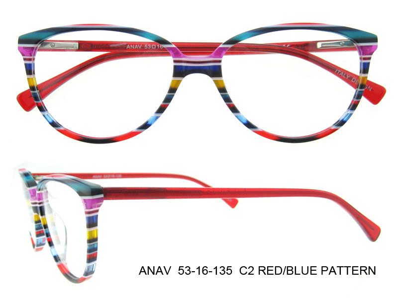 2016 New Design Fancy Beautiful Optical Frames Eye Glasses Frame Italy Designer