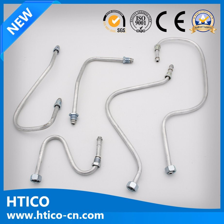 Customized Aluminum Pipe Fittings Bending Parts for Gas Oven