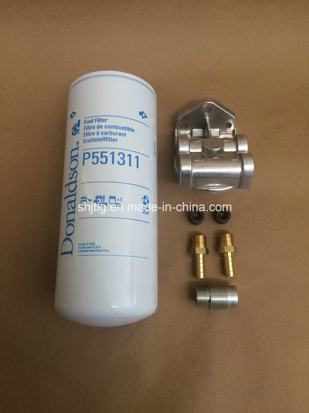 P551311 for Cummins Duramax Powerstroke Cat Fuel Filter Remote Mount with Filter Fr250491