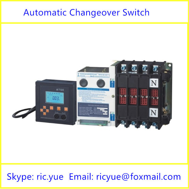 3 Sections Power Converter Automatic Changeover Switch (YMQ-125/4P-3)