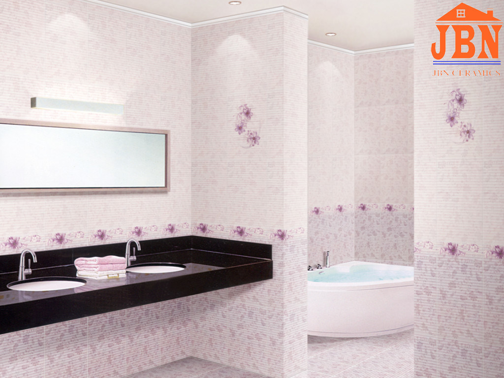 Glazed Bathroom and Kitchen Decorative Ceramic Wall Tile (1LP26401)