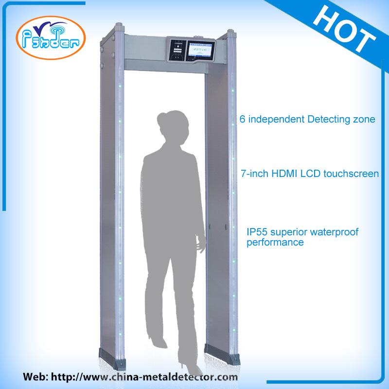 Touch Screen Intelligent Security Doors Metal Detectors