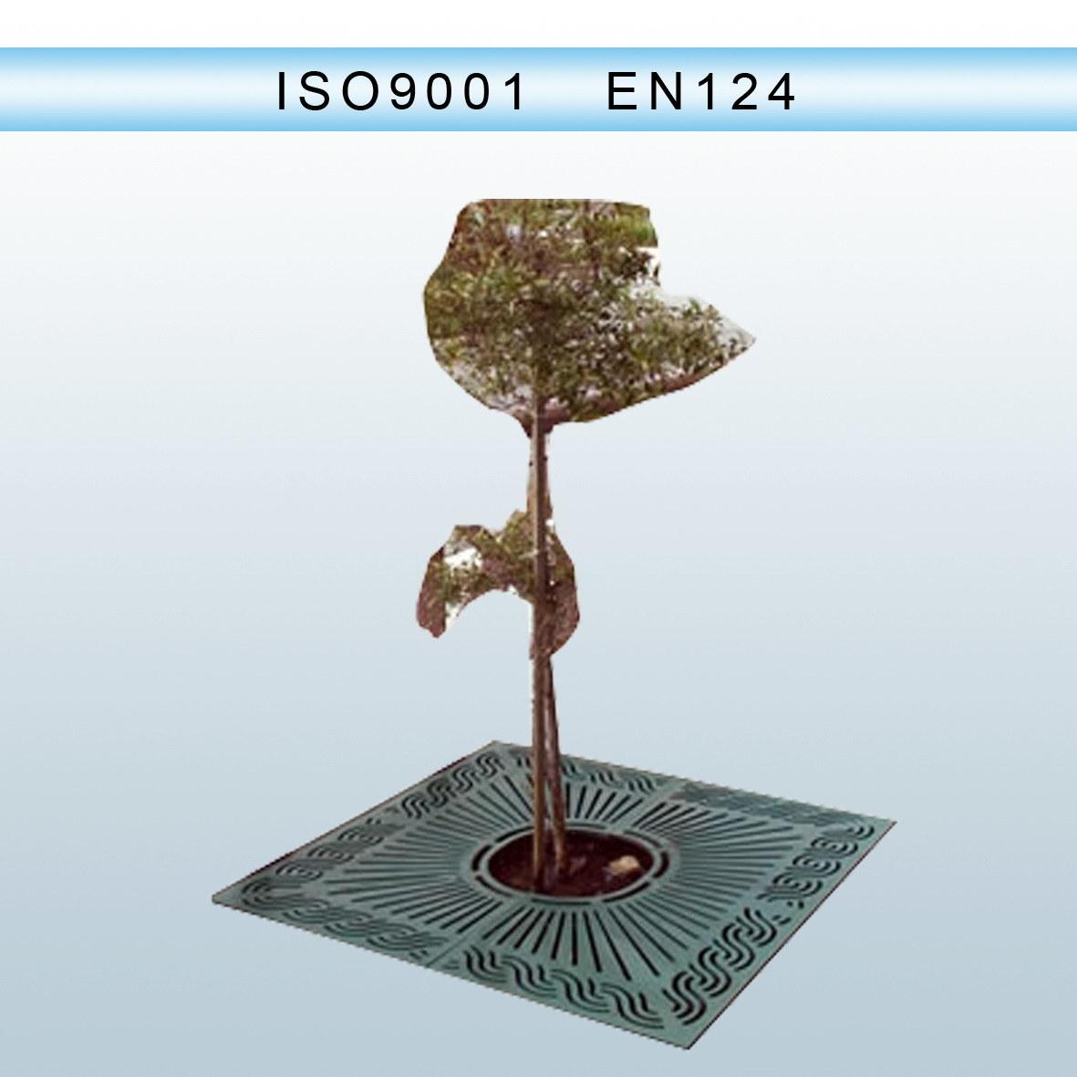 En124 Ductile Iron Casting Tree Gratings Round/Square