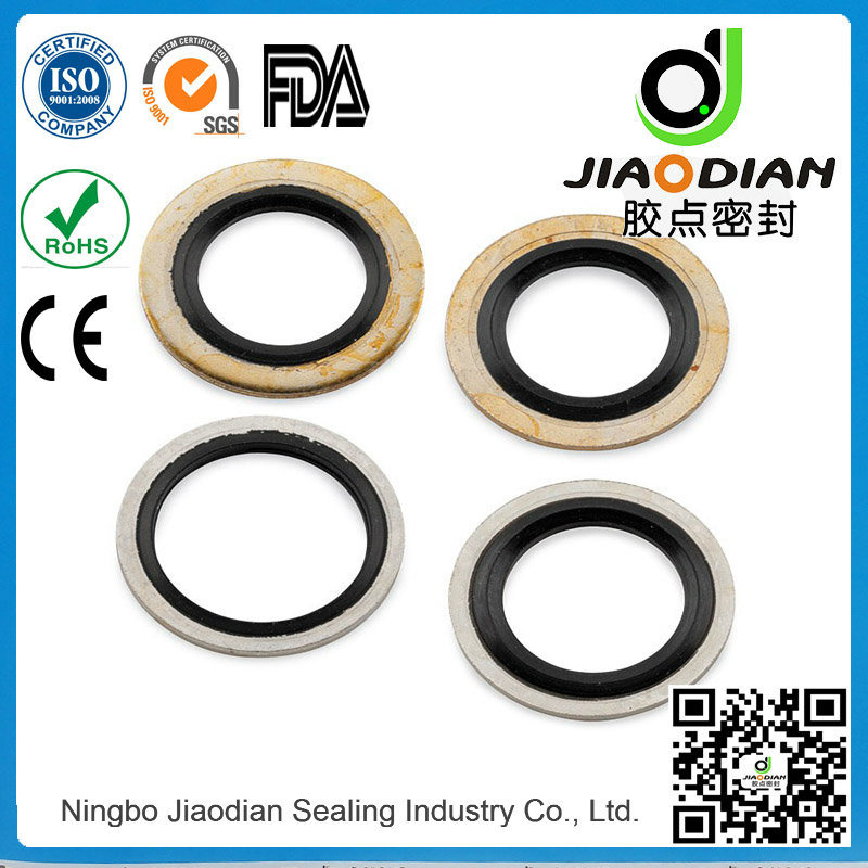 Bonded Seal Gasket with SGS RoHS FDA Certificates As568 Standard (BONDED-SEAL-0002)