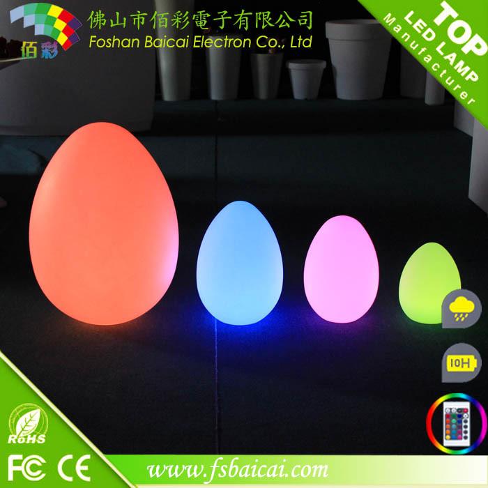 RGB LED Egg Christmas Light / LED Egg Light / Wedding Decoration
