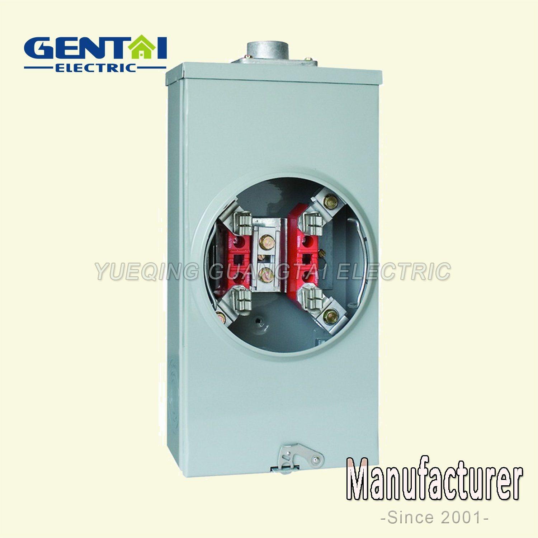 4 Terminal Ring Type Gtfp 200A Rectangular Meter Socket