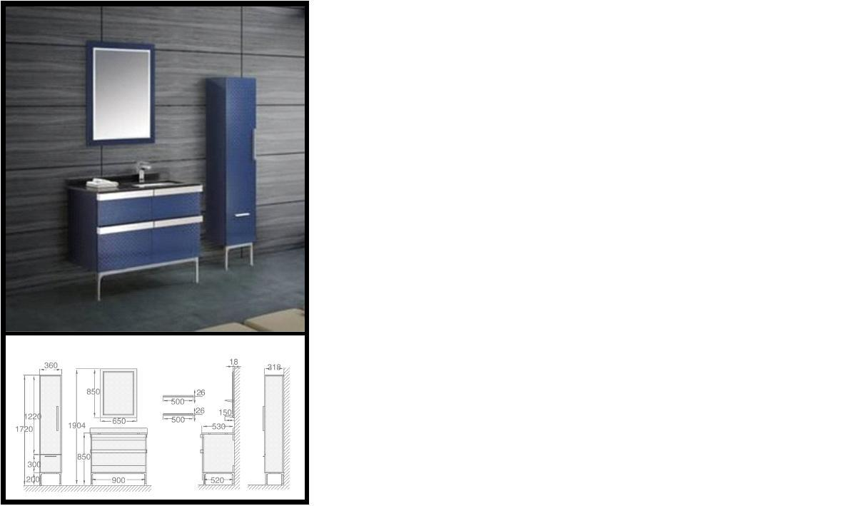 floor mounted dark blue modern bathroom vanity cabinet gbw203 photos