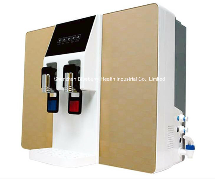 RO Water Purifier with Built-in Tank and Hot/Cold Water Dispenser