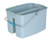 Plastic Twin Mop Bucket for Cleaning (B-041)