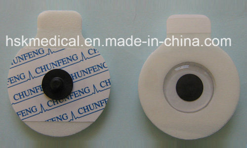 China Factory Supplier Medical Disposable ECG Electrodes Foam 55mm/OEM