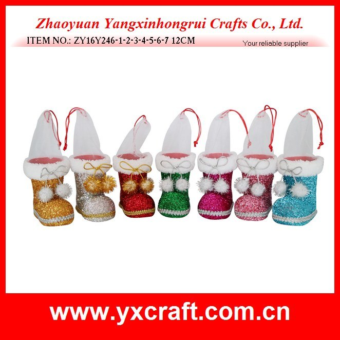 Christmas Decoration (ZY16Y246-1-2-3-4-5-6-7) Christmas Flat Ornaments Christmas Craft Napkin Holder