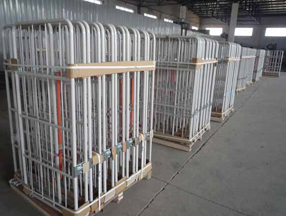 Foldable Galvanized Plating Warehouse Logistic Roll Cage