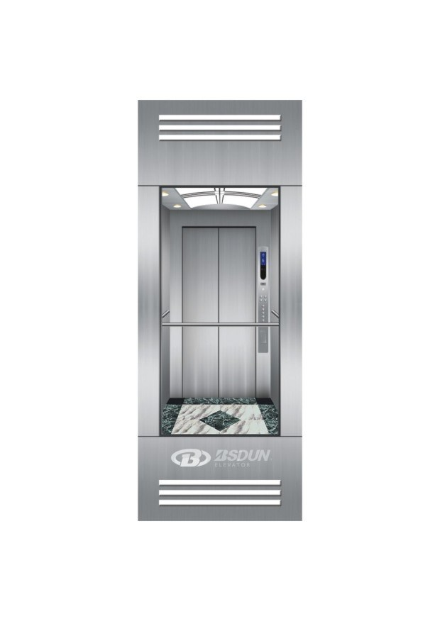 Panoramic Lift Elevator with Glass Cabin for Sightseeing
