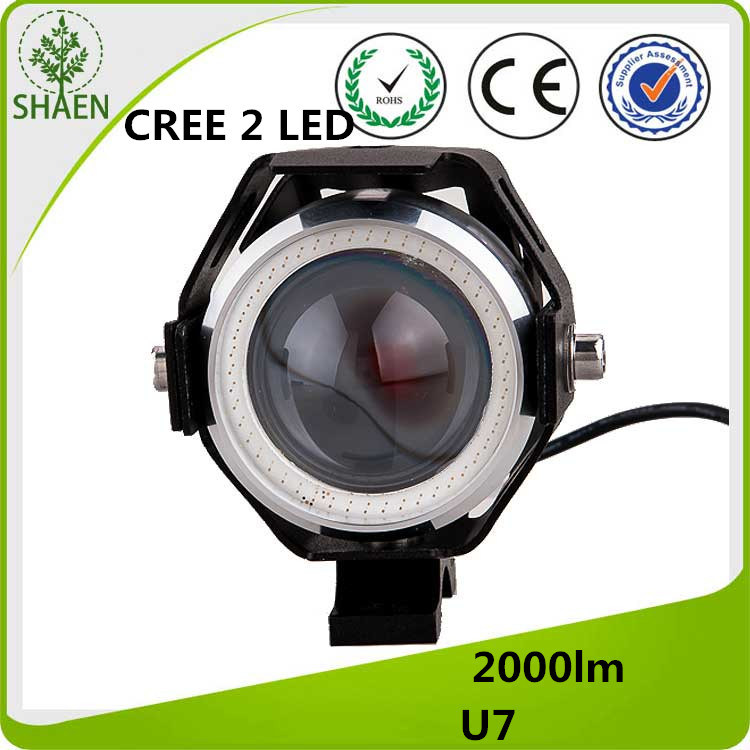U7 CREE LED Motorcycle Headlight 50W DC 12V-80V