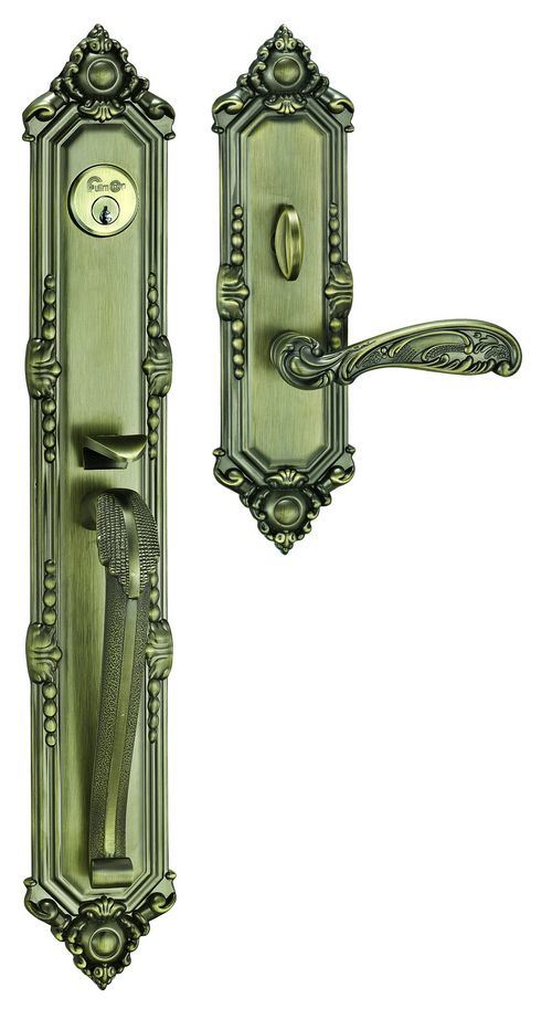 China Front Door Lock Hl1002ab China Lever Handle