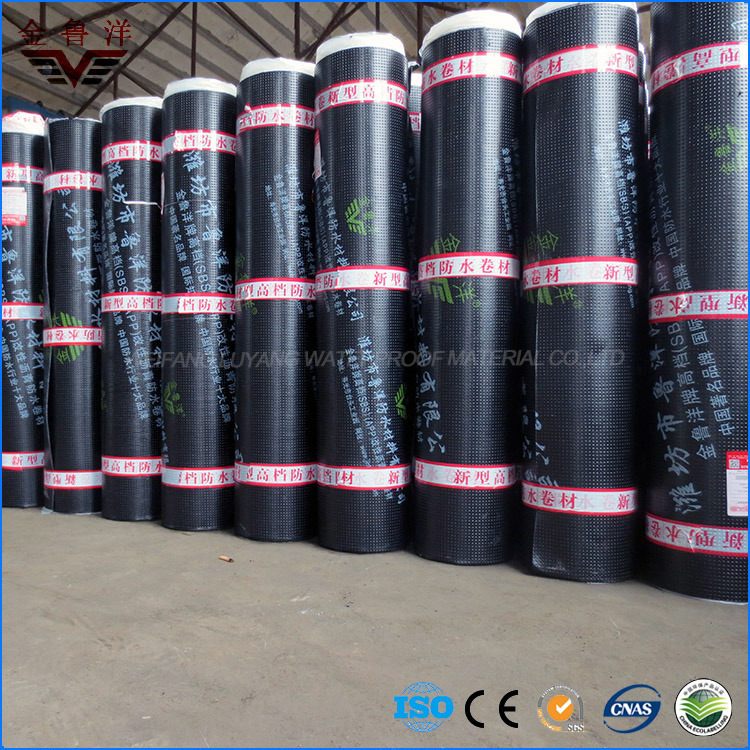 High Quality Sbs Modified Bitumen Waterproof Membrane for Planted Roof
