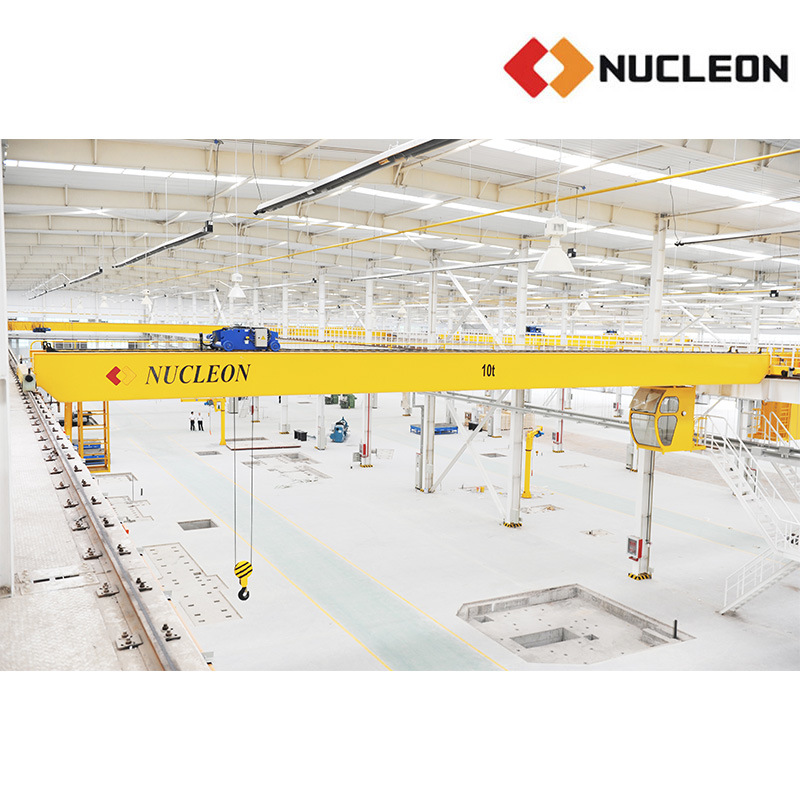 Nucleon Warehouse Specialized Double Girder Hoist Crane 10 Ton