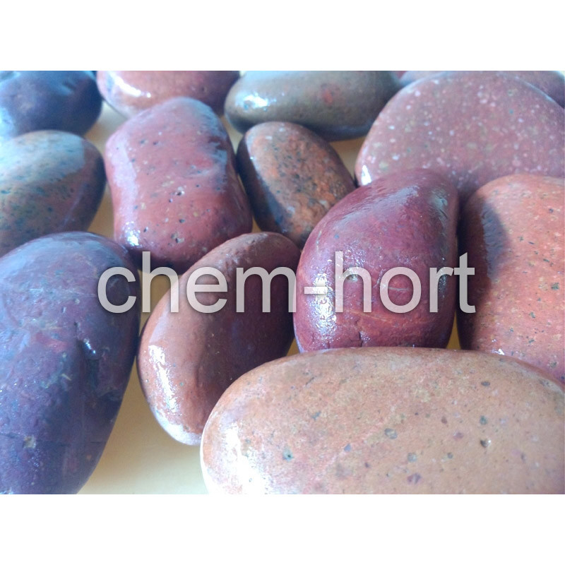 Red Pebble for Garden, Decoration (F08-red series)