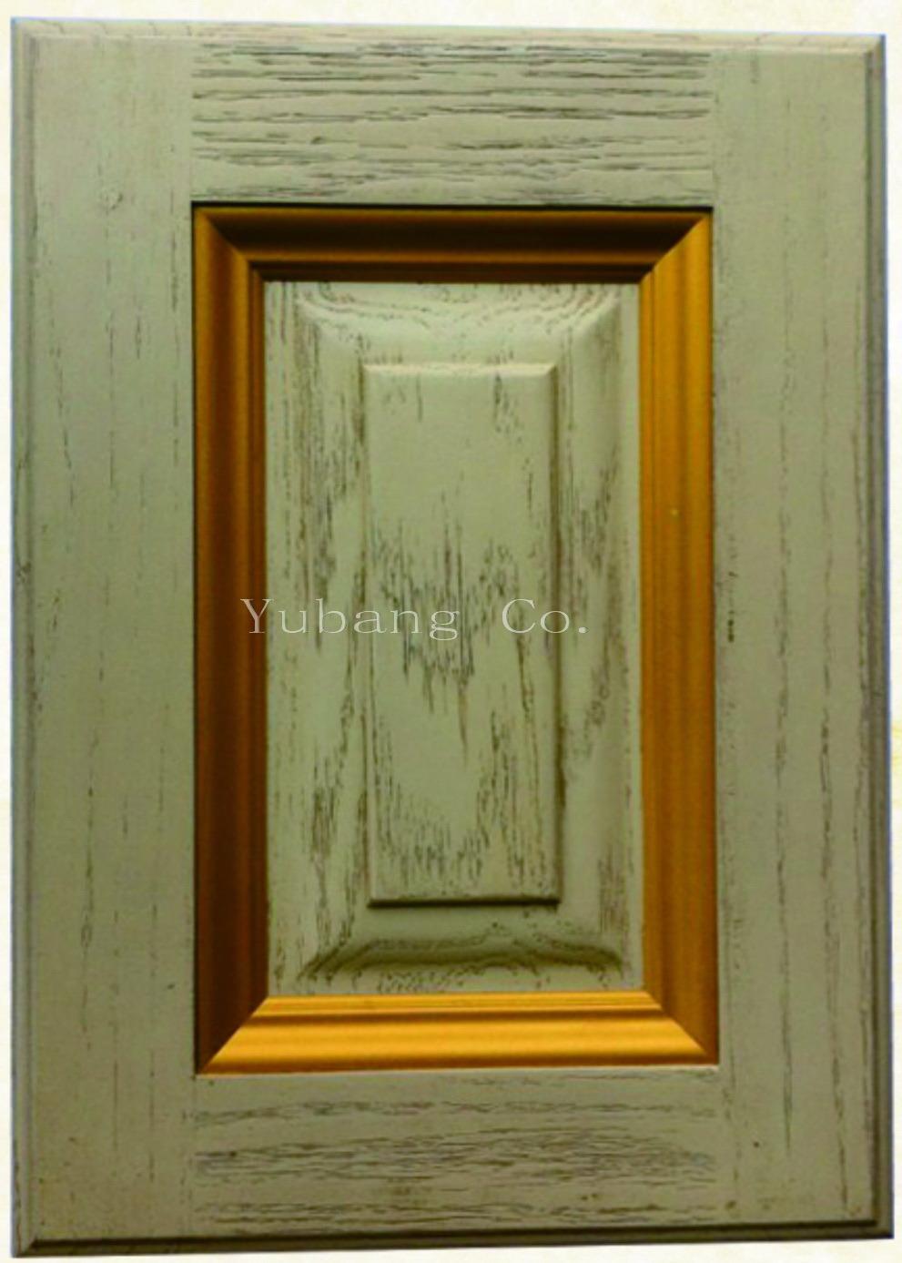 Solid Oak Wood Kitchen Cabinet Door (YJ-004)