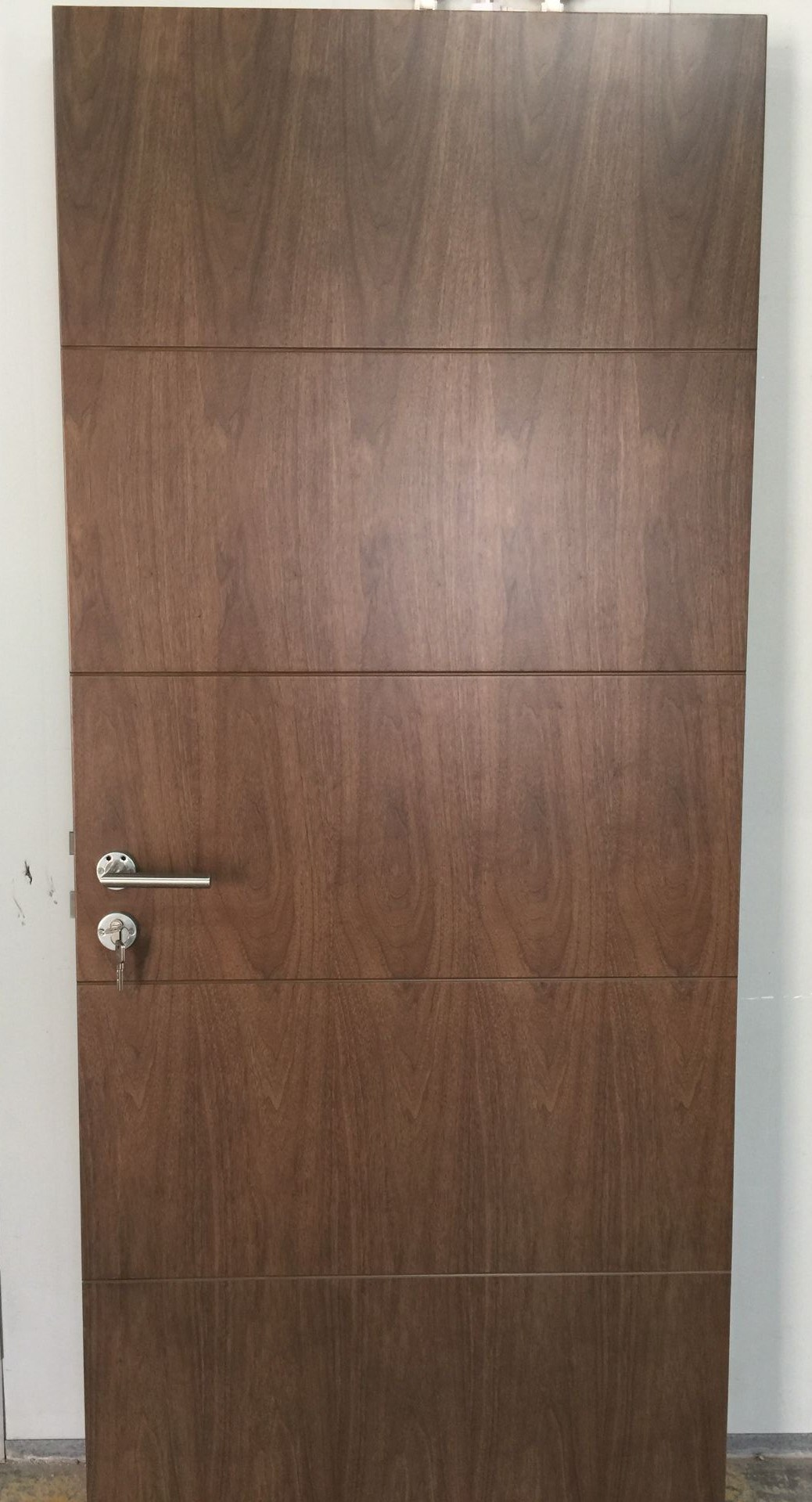 Black Walnut Fire Rated Wood Door, Interior Wooden Door (Interior Door)