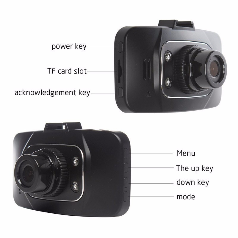 GS8000L Full HD Car DVR Dash Cam CCTV Camera Night Vision