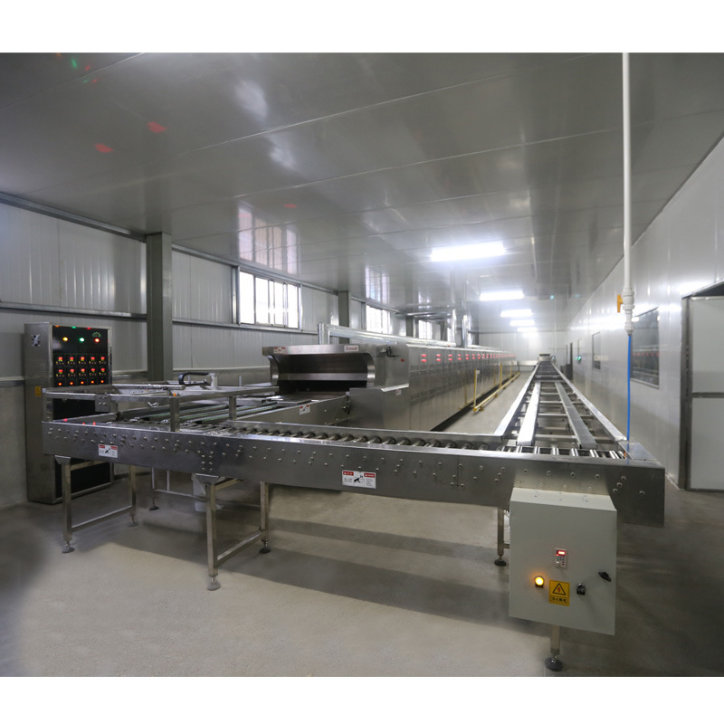 Professional Small Tunnel Gas Oven with PLC Controlling System