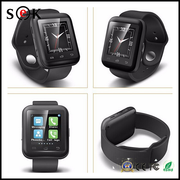 U9 Fashion Luxury Bracelet Wrist Fashion Smart Bluetooth Watch for Ios Android Mobile Phone