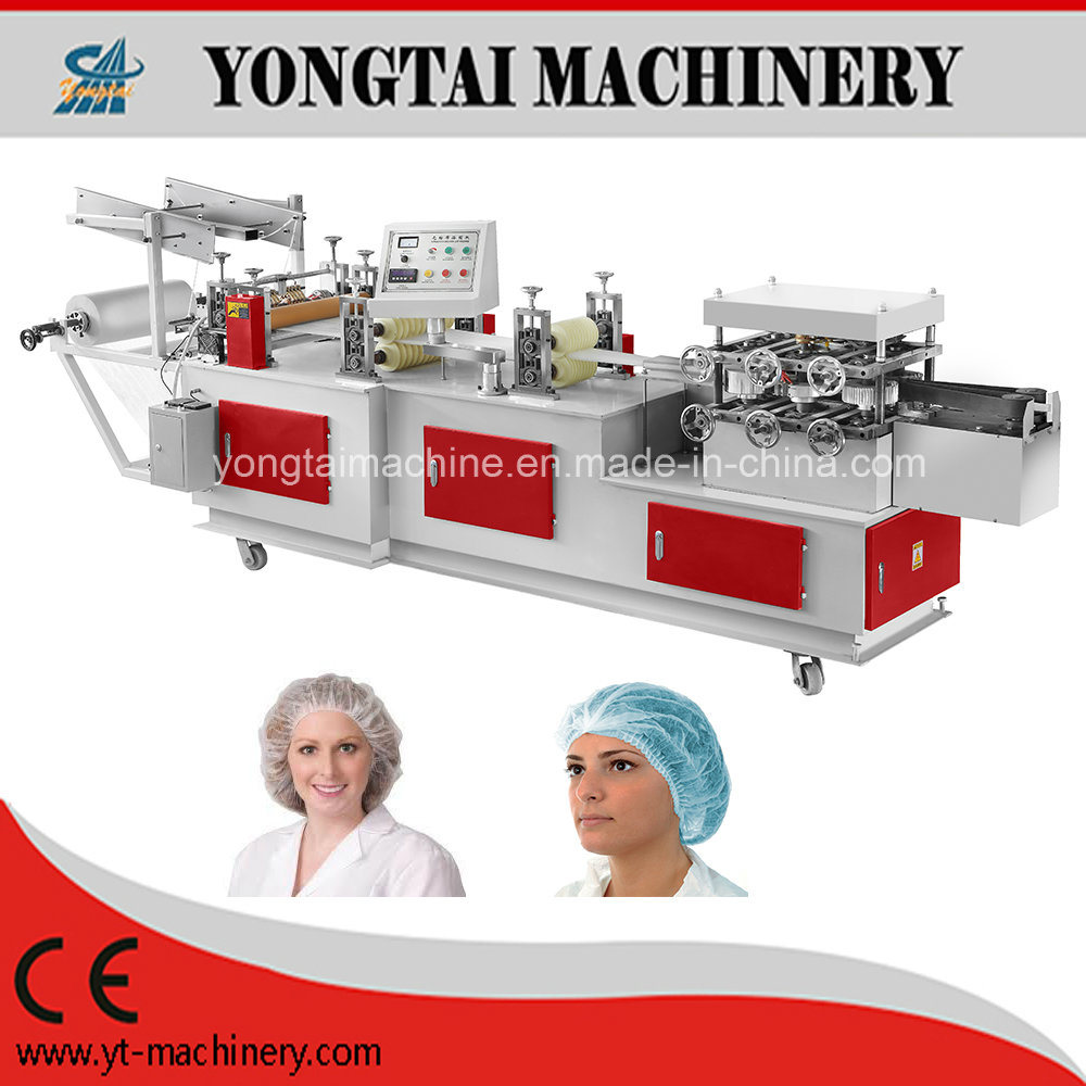 Fully Automatic Disposable Non-Woven Surgical Bouffant Cap Making Machine