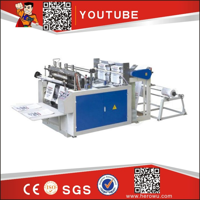 Hero Brand Computer Heat-Sealing & Heat-Cutting Bag-Making Machine (DFR450*2)