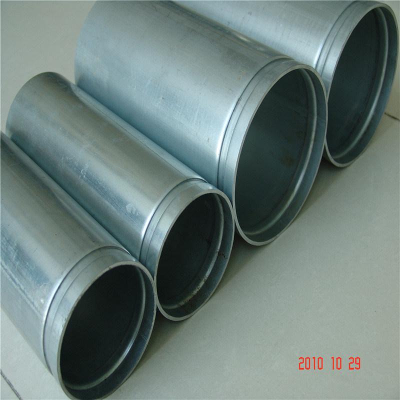 UL FM ERW Round Galvanized Fluid Fire Sprinkler Steel Tube