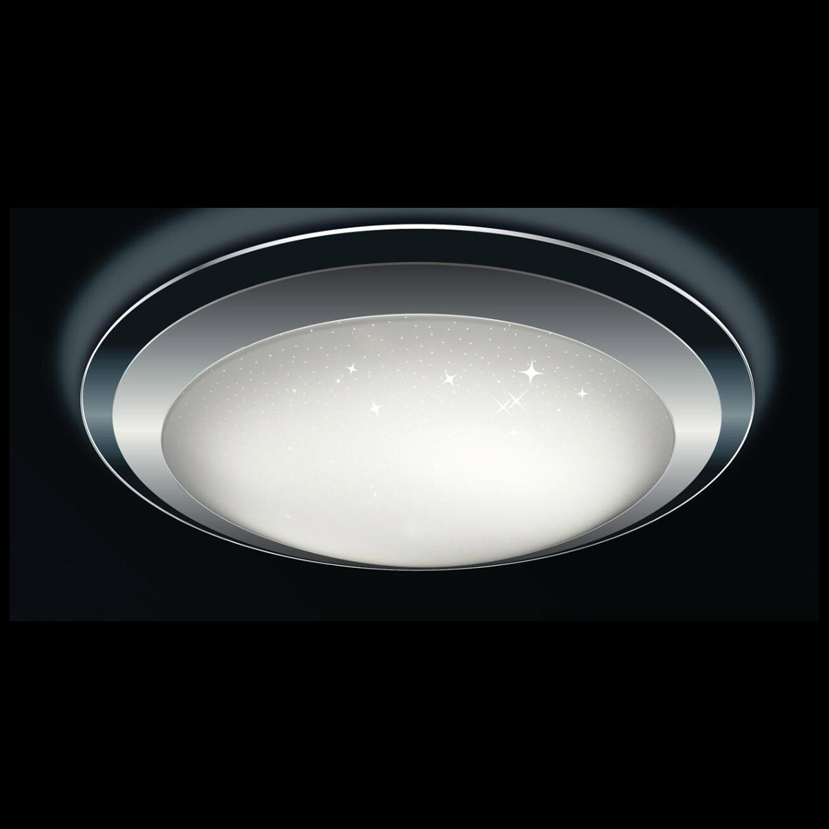 IP44 20W Starry Night Oyster LED Ceiling Light