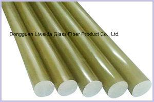 Insulation Epoxy Resin Reinforcing Fiberglass FRP Transparent Rod