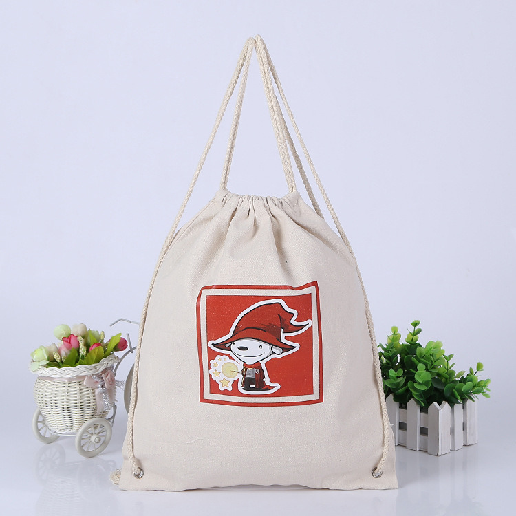 Canvas Handbag for Shopping