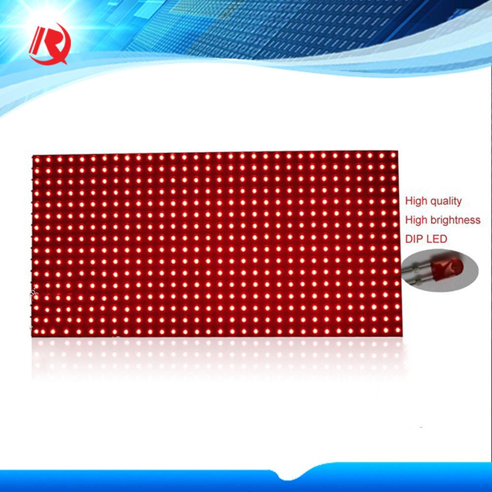 Single Red LED Display Module P10 LED Module