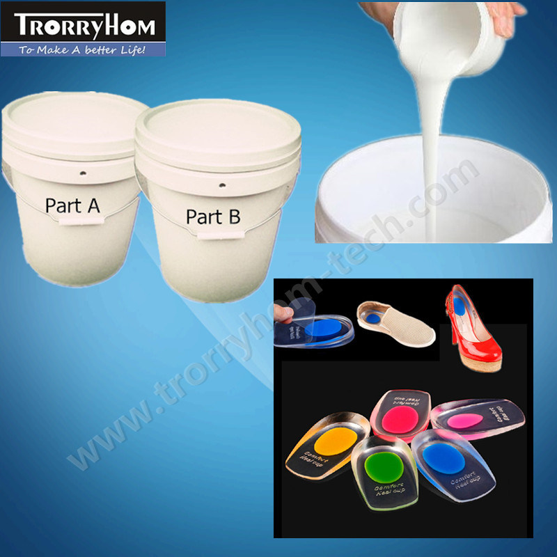 RTV 2 Liquid Silicone for Foot Pads Molding