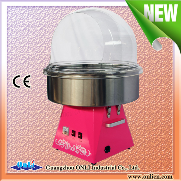 Hot Sale 2016 New Candy Floss Machine with Cover