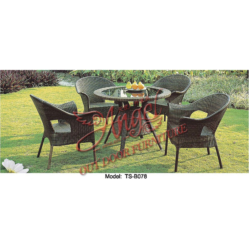 China Rattan Leisure Outdoor Garden Furniture Table Chair