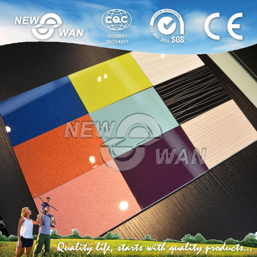 High Glossy UV MDF & Acrylic MDF for Kitchen Cabinets