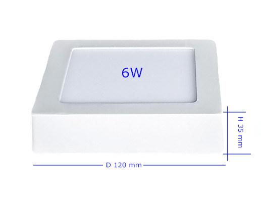 6W LED Panel Lighting LED Commercial Lighting