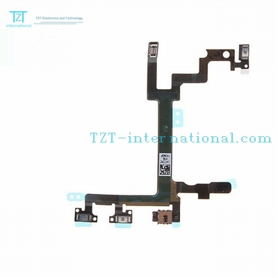 Mobile Phone Power Button Switch Flex Cable for iPhone 5
