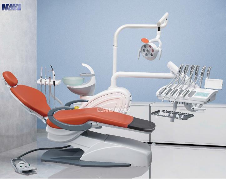 Medical Instrument Luxurious Dental Unit Chair