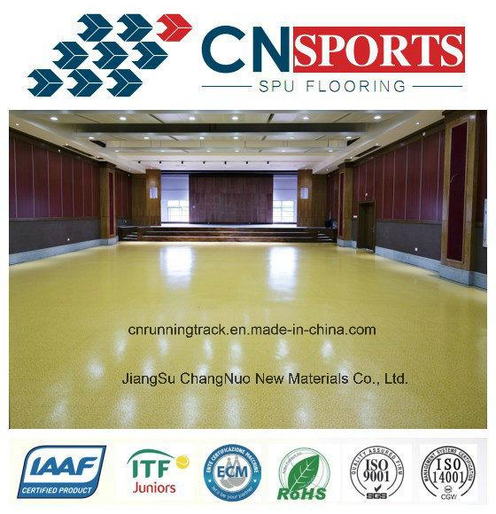 Anti-Slipping Beautiful Polyurea School Flooring