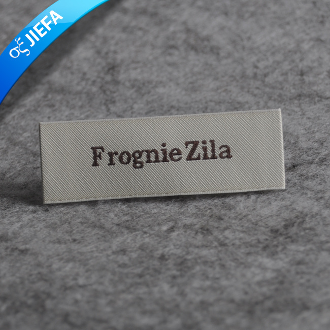 New Custom Washable Women′s Clothing Woven Collar Label