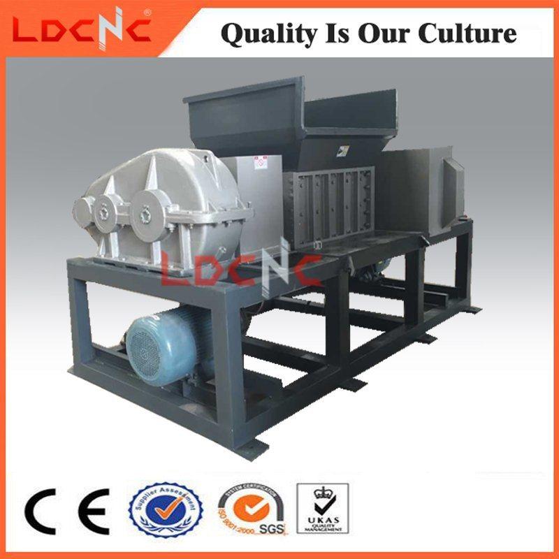 Waste Wood Pallet Twin Shaft Shredder Machine Manufacturer