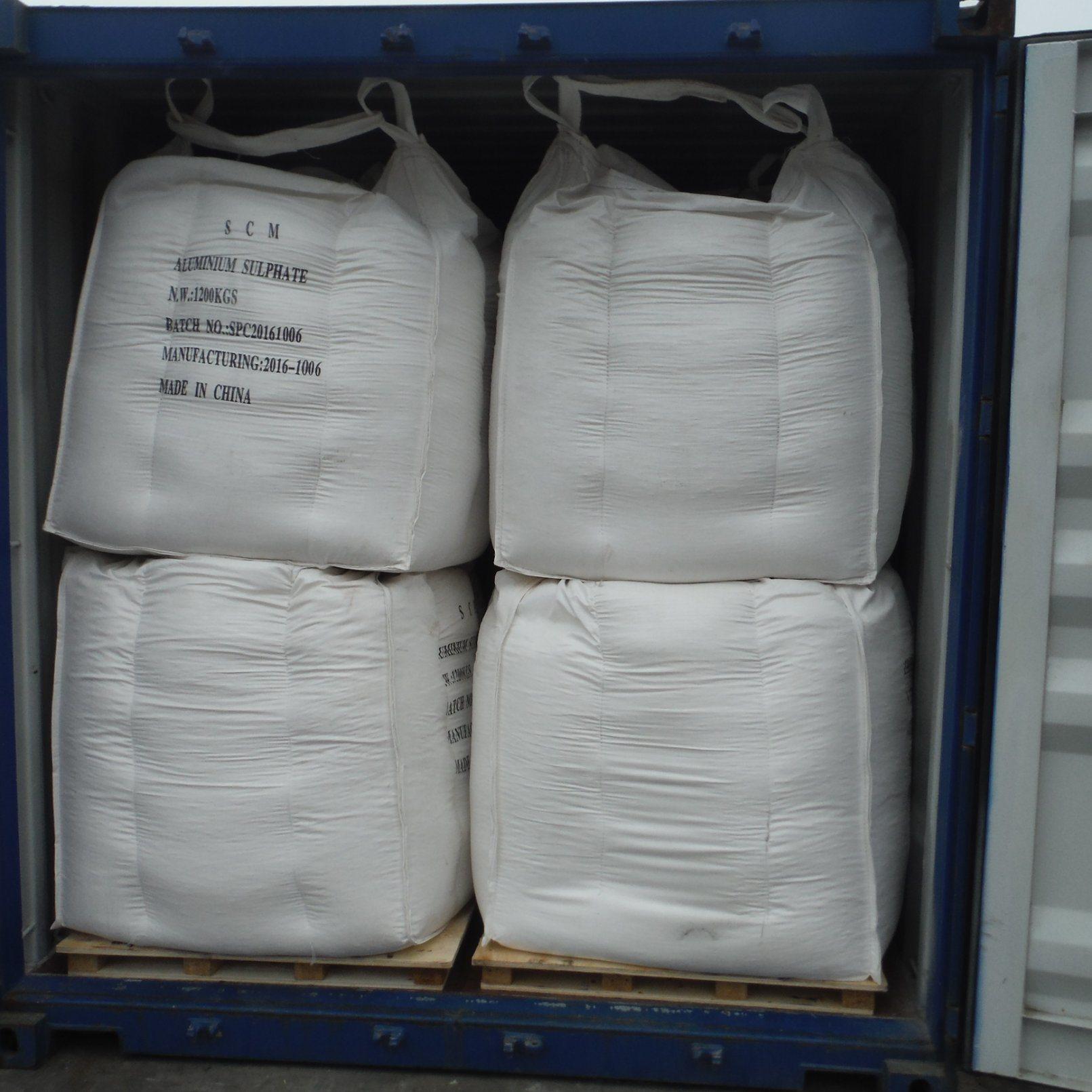 Drinking Water Treatment Low-Ferric Aluminium Sulphate Flakes/Powder/Lump/Granule.
