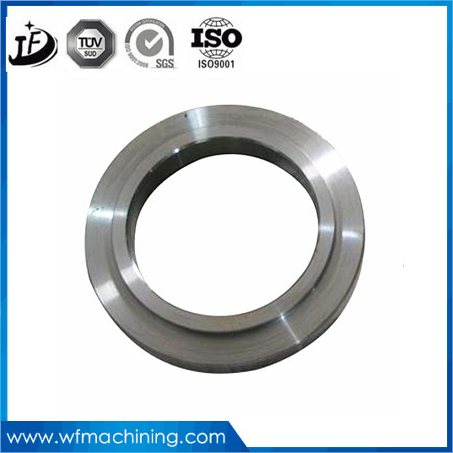 Customized Good Quality Seat Ring CNC Machining and Turning, Milling, Grinding, Drilling Services