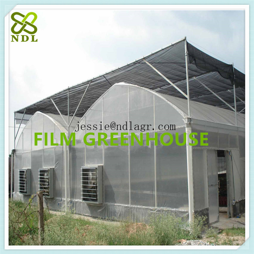 China Lock Channel Industrial Film Green House