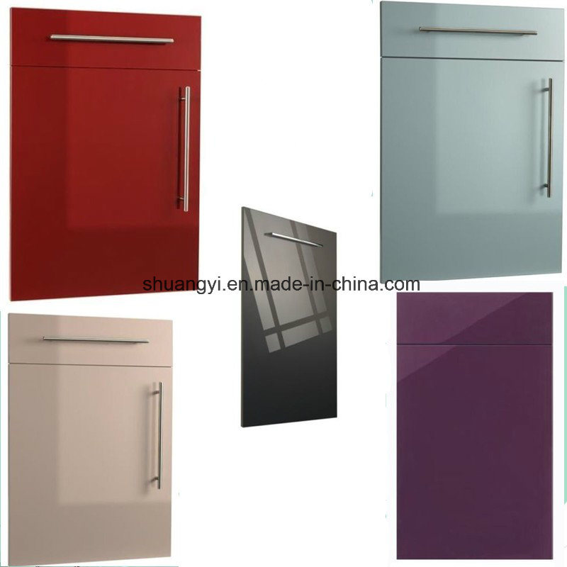 White Lacquer High Gloss Modular China Modern Kitchen Cabinet