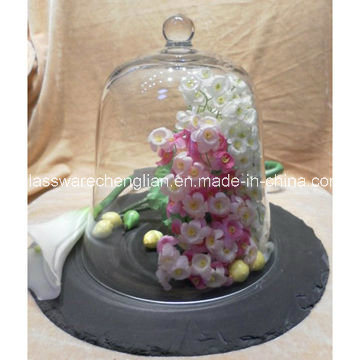 Clear Glass Cake Dome (B-PC001)